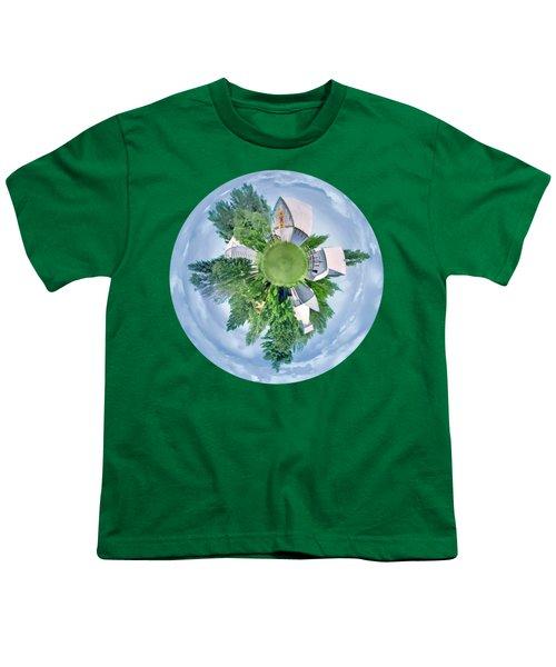 Nebraska Farm - Transparent Youth T-Shirt
