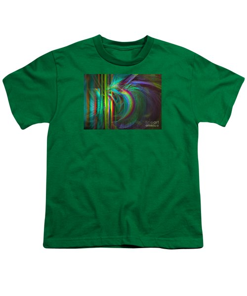 Penetrated By Life - Abstract Art Youth T-Shirt