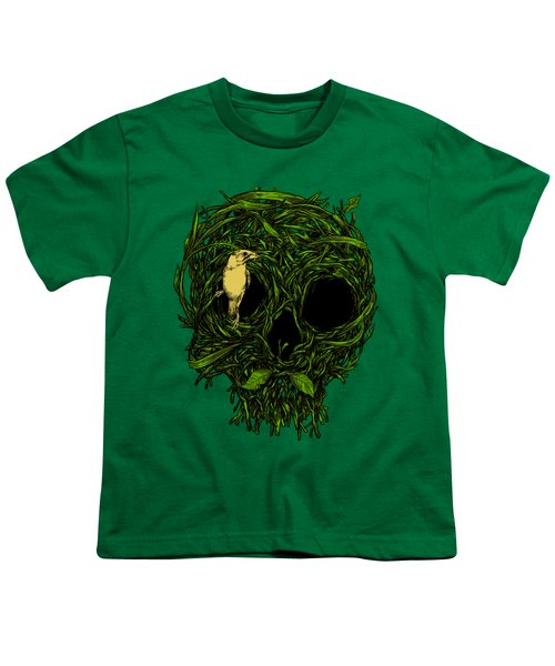 Skull Nest Youth T-Shirt by Carbine
