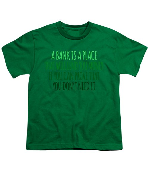 A Bank Youth T-Shirt