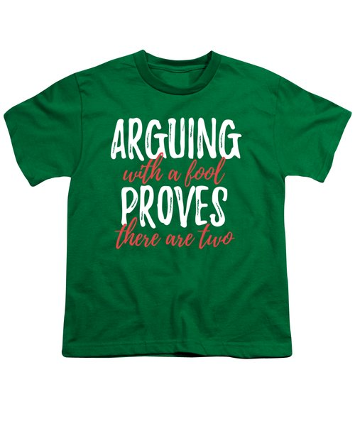 Arguing Youth T-Shirt