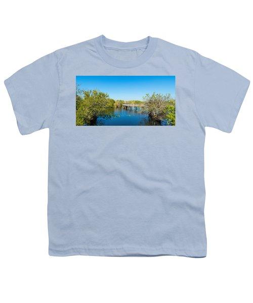 Anhinga Trail Boardwalk, Everglades Youth T-Shirt