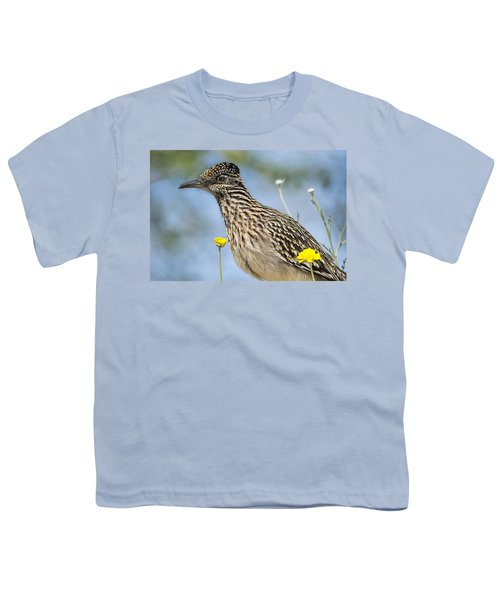 The Greater Roadrunner  Youth T-Shirt by Saija  Lehtonen