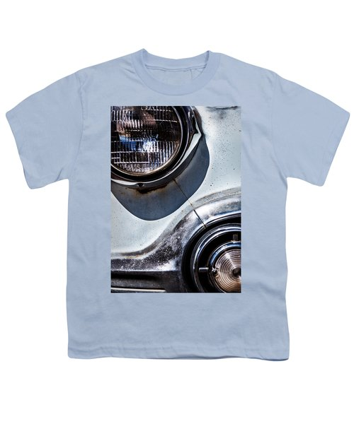 1953 Chevy Headlight Detail Youth T-Shirt
