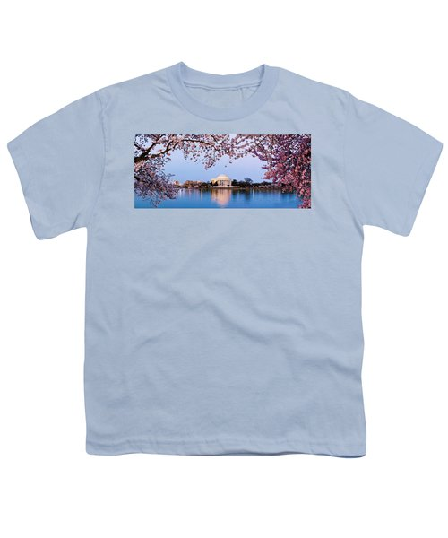 Cherry Blossom Tree With A Memorial Youth T-Shirt
