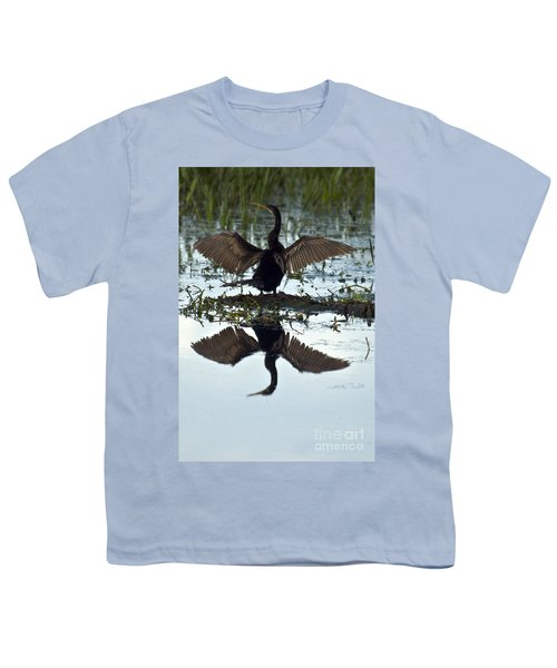 Anhinga Youth T-Shirt by Mark Newman