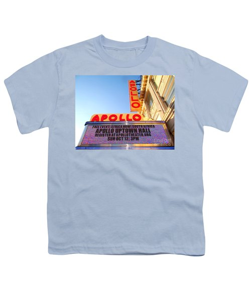 At The Apollo Youth T-Shirt by Ed Weidman