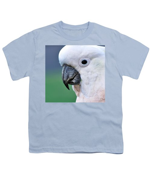 Australian Birds - Cockatoo Up Close Youth T-Shirt