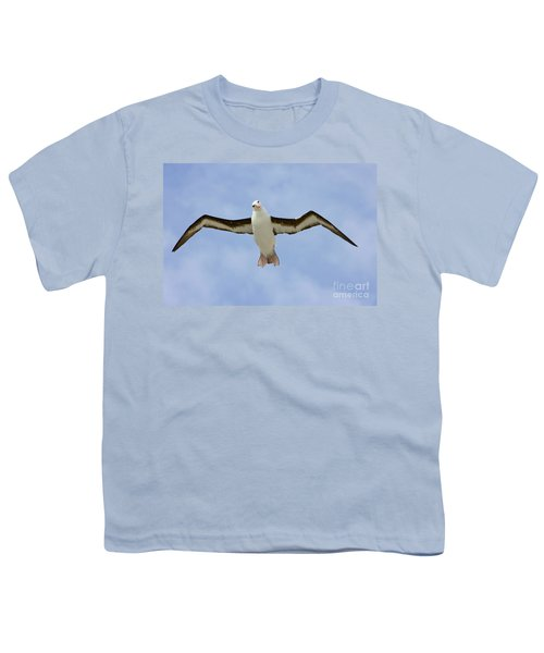 Black-browed Albatross Flying Youth T-Shirt