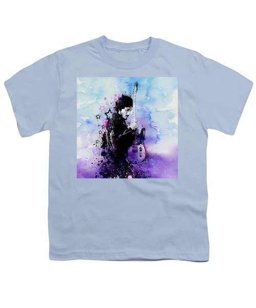Bruce Springsteen Splats And Guitar 2 Youth T-Shirt