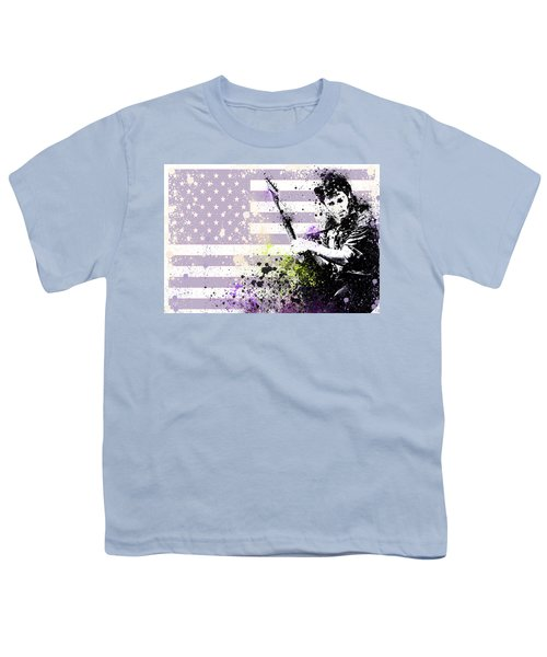 Bruce Springsteen Splats Youth T-Shirt