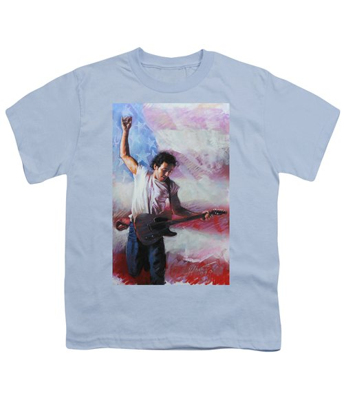 Bruce Springsteen The Boss Youth T-Shirt
