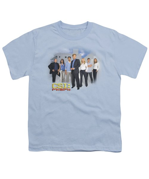 Csi - Miami Cast Youth T-Shirt