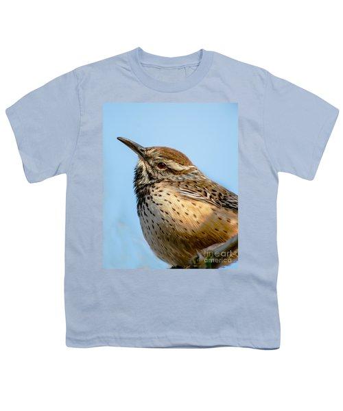 Cute Cactus Wren Youth T-Shirt
