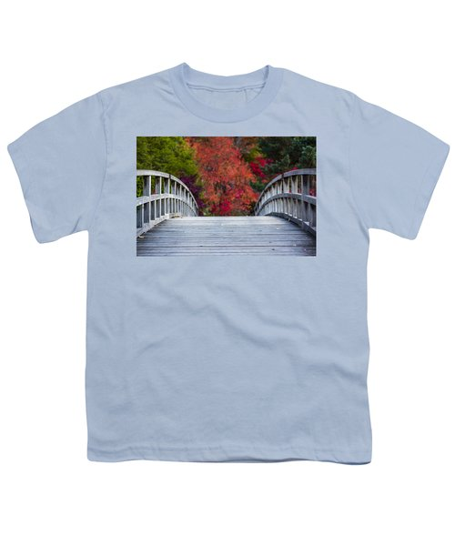 Youth T-Shirt featuring the photograph Cypress Bridge by Sebastian Musial