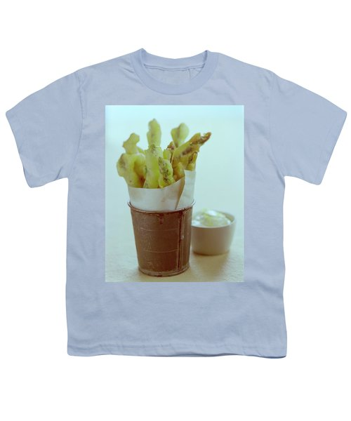 Fried Asparagus Youth T-Shirt