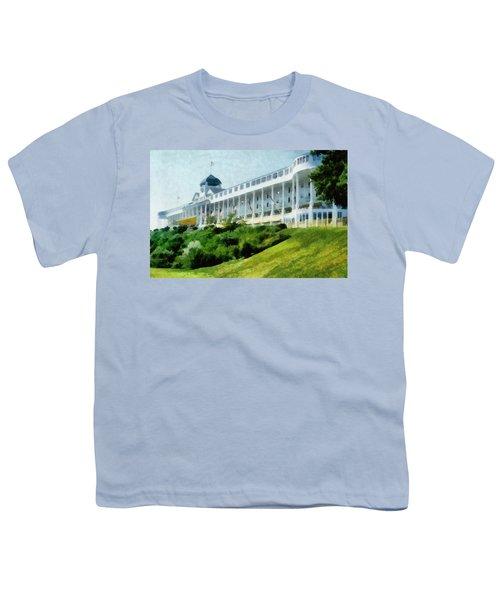 Grand Hotel Mackinac Island Ll Youth T-Shirt