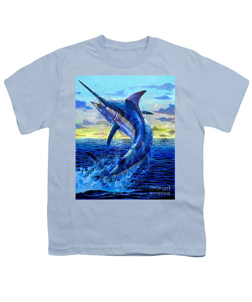 Grander Off007 Youth T-Shirt by Carey Chen