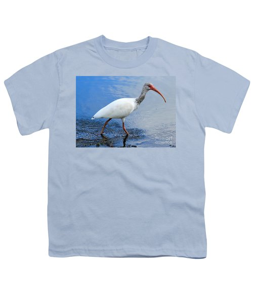 Ibis Visitor Youth T-Shirt by Carol Groenen