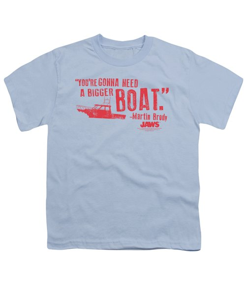 Jaws - Bigger Boat Youth T-Shirt by Brand A