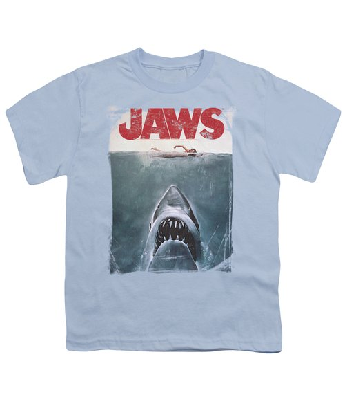 Jaws - Title Youth T-Shirt
