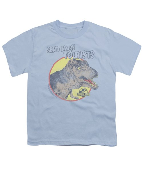Jurassic Park - More Tourist Youth T-Shirt by Brand A