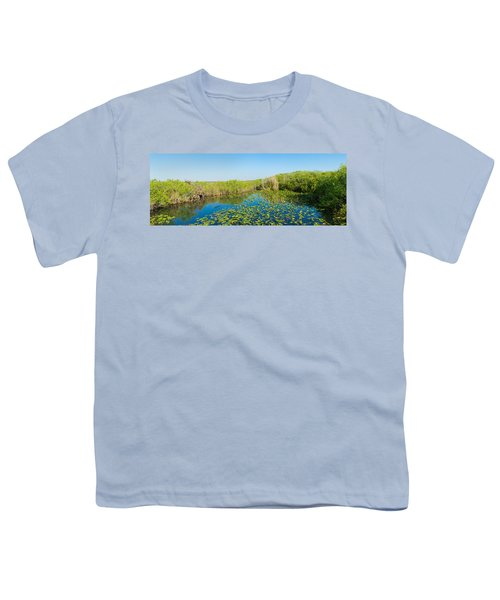 Lily Pads In The Lake, Anhinga Trail Youth T-Shirt