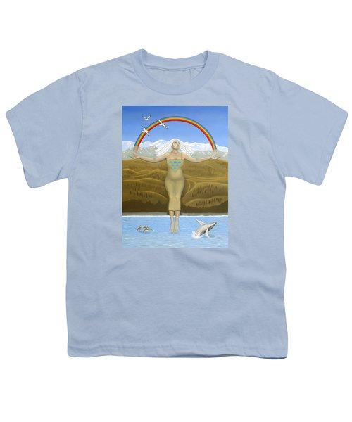Papatuanuku / Capricorn Youth T-Shirt by Karen MacKenzie