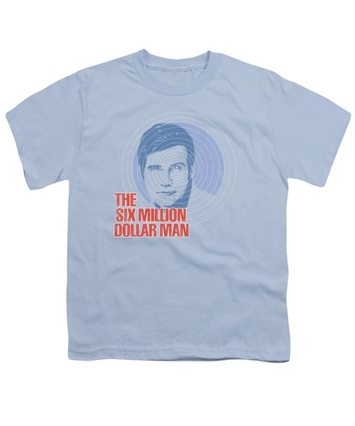 Six Million Dollar Man - I See You Youth T-Shirt