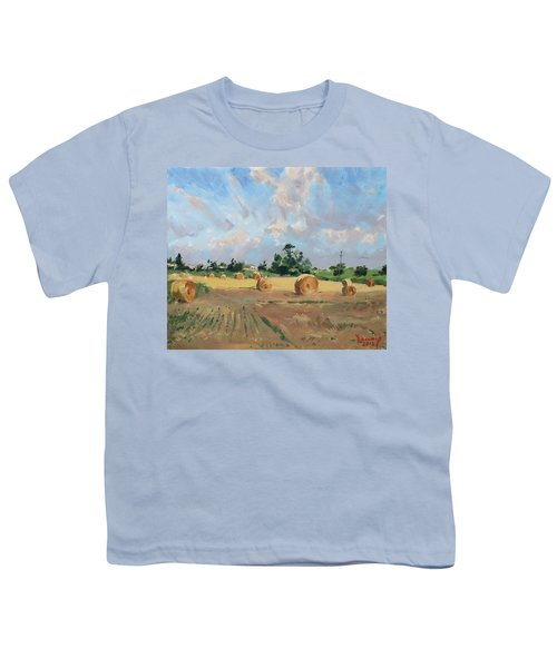 Summer Fields In Georgetown On Youth T-Shirt