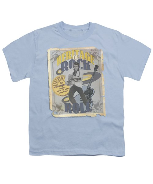 Sun - Heritage Of Rock Poster Youth T-Shirt by Brand A