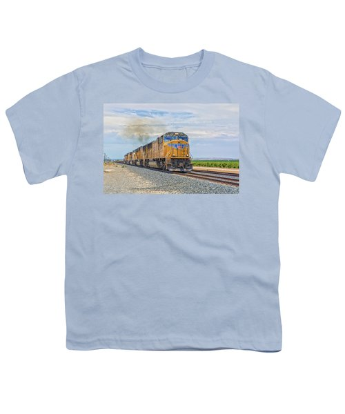 Youth T-Shirt featuring the photograph Up4421 by Jim Thompson
