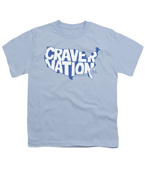 White Castle - Craver Nation Youth T-Shirt by Brand A