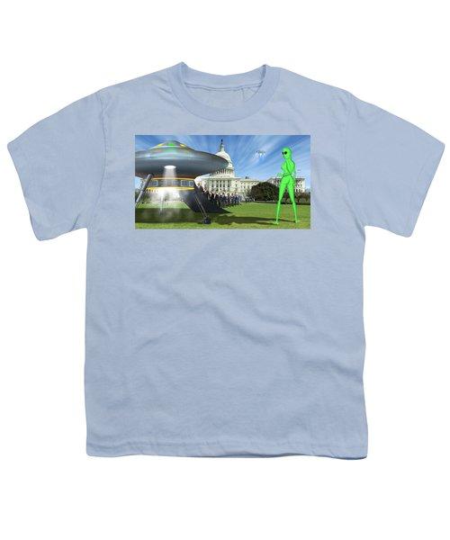 Wip - Washington Field Trip Youth T-Shirt by Mike McGlothlen
