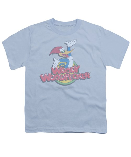 Woody Woodpecker - Retro Fade Youth T-Shirt by Brand A