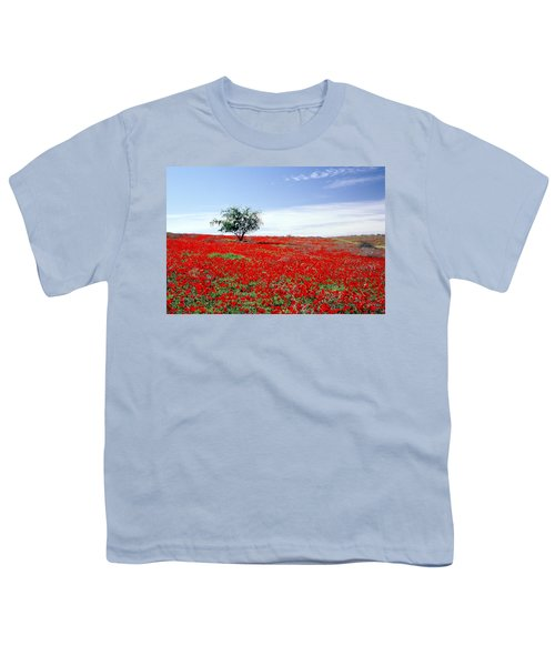 A Tree In A Red Sea Youth T-Shirt