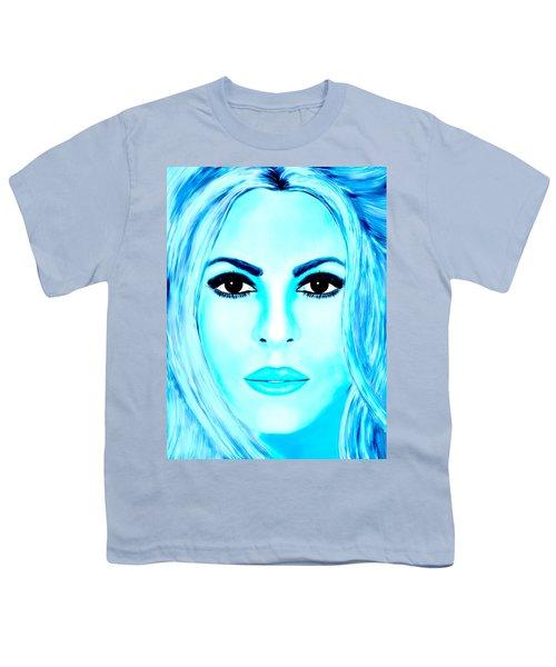 Shakira Avator Youth T-Shirt by Mathieu Lalonde
