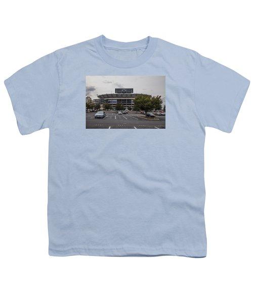 Beaver Stadium Penn State  Youth T-Shirt by John McGraw