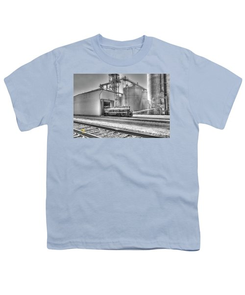 Youth T-Shirt featuring the photograph Industrial Switcher 5405 by Jim Thompson