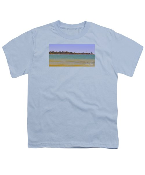 Youth T-Shirt featuring the photograph Racine Lakefront by Ricky L Jones