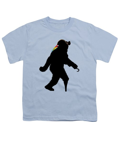 Gone Squatchin Fer Buried Treasure Youth T-Shirt by Gravityx9  Designs
