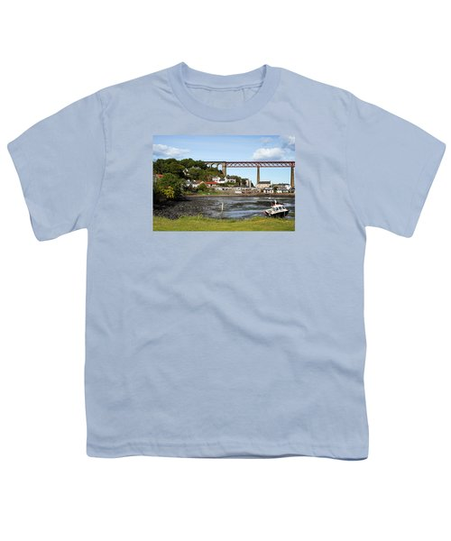 Youth T-Shirt featuring the photograph North Queensferry by Jeremy Lavender Photography