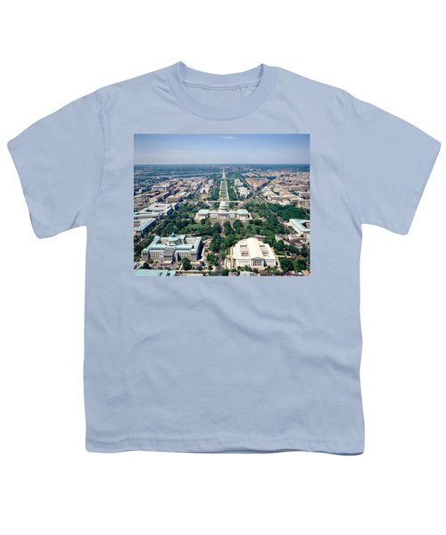 Aerial View Of Buildings In A City Youth T-Shirt