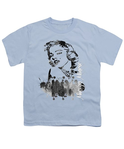 Marilyn Monroe Collection Youth T-Shirt by Marvin Blaine