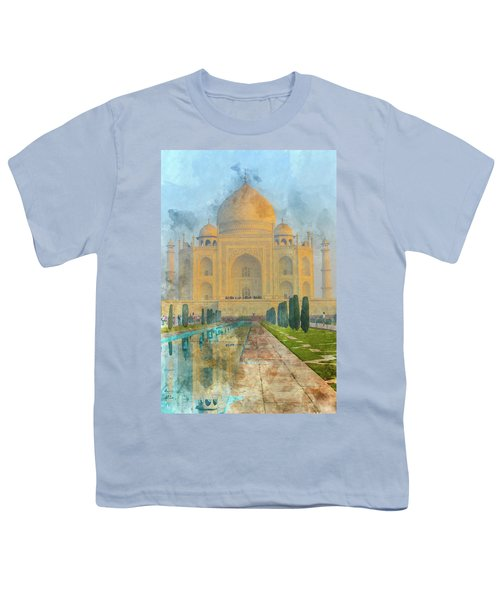 Taj Mahal In Agra India Youth T-Shirt