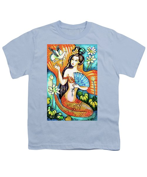 Youth T-Shirt featuring the painting A Letter From Far Away by Eva Campbell