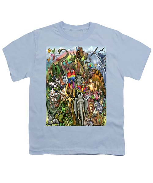 All Creatures Great Small Youth T-Shirt by Kevin Middleton