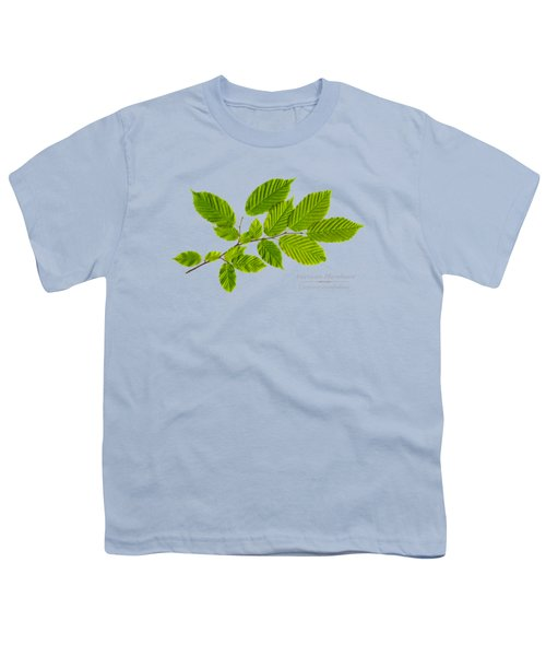 American Hornbeam Youth T-Shirt by Christina Rollo