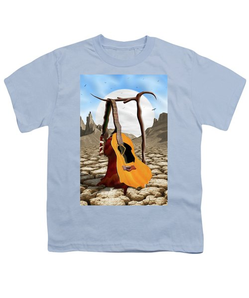 An Acoustic Nightmare Youth T-Shirt by Mike McGlothlen