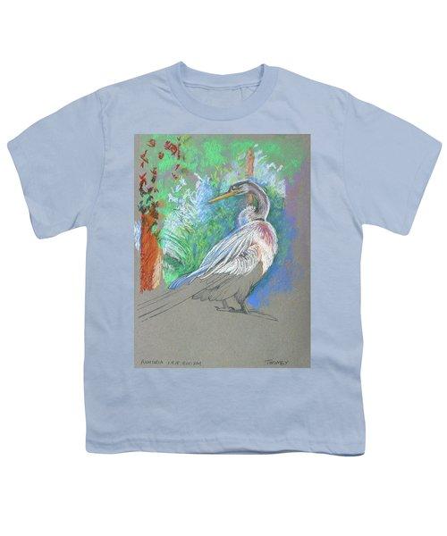 Anhinga Sarasota Plein Air Youth T-Shirt